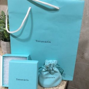 Tiffany & Co. Box, Bag and handle package